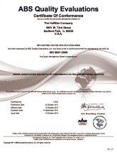 thumbnail of Hallstar ISO 9001 Certificate