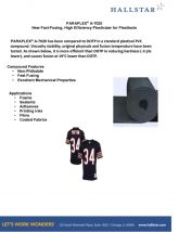 thumbnail of Paraplex A-7020 Fast Fusing Plasticizer for Plastisols