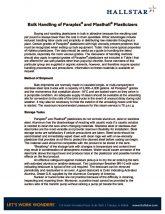thumbnail of Bulk Handling of Paraplex® and Plasthall® Plasticizers