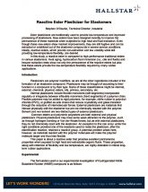 thumbnail of Reactive Ester Plasticizer for Elastomers