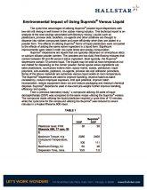 thumbnail of Environmental Impact of Using Suprmix® Versus Liquid